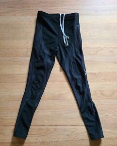 CW-X Women's Black Compression Leggings Pants Size M 3/4 Running Workout