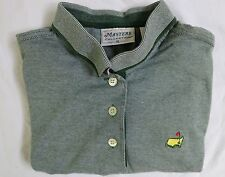 Masters Collection XL Green & White Striped SS Polo/Golf Shirt