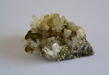 Chalcopyrite et Quartz Roumanie 250g - Minéraux de Collection