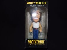 Funko Freddy Wobbler Marvel Wolverine With Blue Chrome Base Bobble-Head Rare