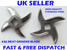 No 32 Meat Mincer Blade Mincer Knife Stainless Steel Salvador Style OEM Quality