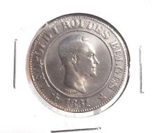 CIRCULATED 1861 20 CENTIMES BELGIUM COIN !