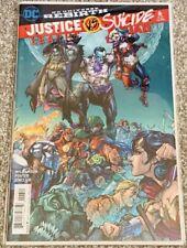 Justice League Vs Suicide Squad #6 Rare DC Universe Rebirth Comic Near Mint