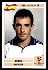 Panini Liga de Campeones 2000/2001 (final) - Pedro exceptuamos Real Madrid Nº 153