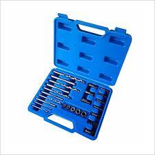 Screw Extractor Drill Guide Set Remove Broken Screw Bolts