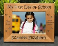 Personalized Engraved // First Day of School // Picture Frame