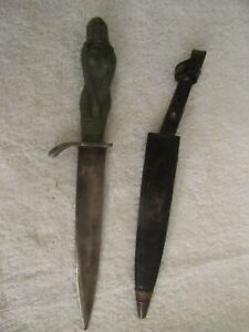 "VINTAGE ""The Maiden"" Japanese KORIUM Nude Female Dagger/Knife"