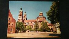 Beautiful OLDER AK Kempten Parish Church of St. Lorenz Basilica Benedictine 1965 kr289