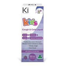Ki Kids Cough & Cold 100mL Oral Liquid - Berry Flavour Natural Herbal Medicine