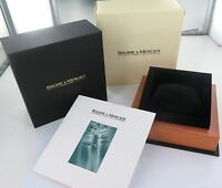 BAUME & MERCIER REF. MOA08113 SUPERB DISPLAY BOX, OUTER BOX, BOOKLET & TAG.