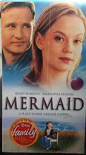 Mermaid (VHS) 2001 Showtime movie stars Ellen Burstyn, Samantha Mathis