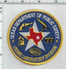 Texas Dept of Public Safety Crime Laboratory Division 1st Issue Shoulder patch
