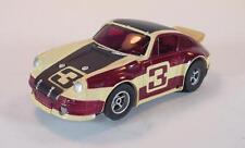 Slot Car Faller AMS Aurora AFX Nr. 5617 Porsche Carrera weinrot/creme dunkl .348
