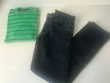 LOT QUIKSILVER / RIVER WOODS 1 Jean+ 1 Pull 12 ans automne hiver NEUF / TBE