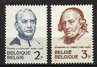 A7648) BELGIUM 1962 Scott# 580/81 MNH** Fam. People 2v