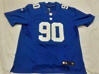 Nike Elite New York Giants Jason Pierre Paul #90 Sewn Stitched NFL Jersey SZ 52