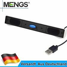 Portable USB Multimedia Mini Lautsprecher für Computer Desktop PC Laptop Noteboo