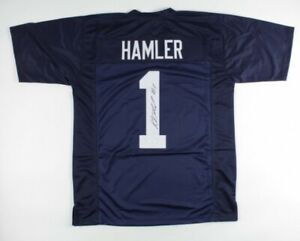 K. J. Hamler Signed Jersey (JSA COA)Penn State Nittany Lions
