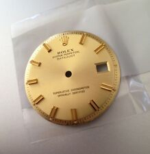 RARE GREAT ROLEX DATEJUST PIE PAN WIDE BOY SIGMA CHAMPAGNE DIAL 1600 1601 1603
