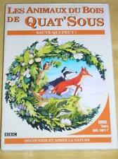 DVD BOIS DE QAT'SOUS / SAUVE QUI PEUT / TBE++++++++++++