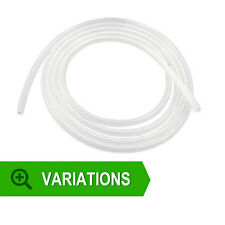 Clear Translucent Silicone Tubing - FDA Approved Milk Hose Beer Pipe Soft Rubber