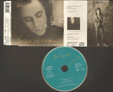 BOB GELDOF 3 track NEW CD SINGLE The Great Song of Indifference 1990 Hotel 75