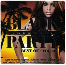BLACK SUMMER PARTY-Best Of-VOL. 10 * New 2cd's * NUOVO *