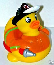 FIREFIGHTER RUBBER DUCKY - The ORIGINAL Fireman Rubber Duckie