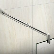 Aluminium Alloy Support bar For 6-10mm Glass Wet Room Screen Shower Enclosure V8