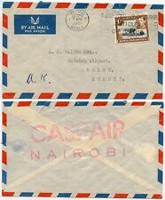 Luftfahrt & Zeppelin Ak Airport London-gatwick 1978 Mit Nachträgl Sammeln & Seltenes Entwerteten Briefmarken
