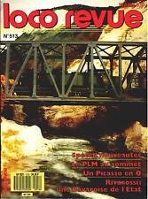 LOCO REVUE 513 DE 1989. UN PICASSO EN O