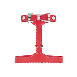 Luxury Leather Cat Harness - Prestige Collection (Red)