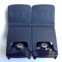 SAMSONITE oyster EPSILON f'lite SUITCASE latch SPARE replacement PART used PAIR