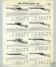 1959 61 PAPER AD Daisy BB Gun Air Rifle Eagle Western Carbine Target Special