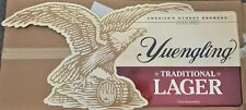 """Yuengling Traditional Lager Eagle Metal Beer Sign 60x27"""" - Brand New RARE"""