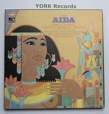 SLS 977 - VERDI - Aida CABALLE / DOMINGO / COSSOTTO - Ex Con 3 LP Record Box Set