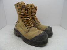 JB GOODHUE Men's 8'' Dynamic TPU Steel Toe Steel Plate Work Boots Tan Size 8 3E