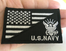 USA flag U.S. NAVY Patches Army Tactical Morale BADGE EMBROIDERED HOOK PATCH