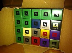 200 cialde capsule ORIGINALI caffè Nespresso gusti a scelta Spedizione in 24 ore