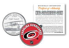 CAROLINA HURRICANES NHL North Carolina Statehood U.S. Quarter