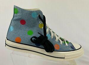 Converse Chuck Taylor All-Star 70s Hi Golf Wang Shoes Size 9 170011C Polka Dots