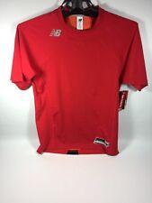 New Balance Tmmt700 Short Sleeve 3000 Baseball Shirt Size Large Red Nwt