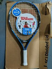 "Wilson US Open Youth Junior 19"" Tennis Racket Blue"