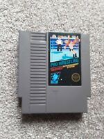 Nintendo nes pro wrestling cartridge tested and working