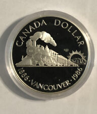 1986 Canadian Silver Dollar ($1), No Reserve!