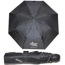 Braccialini Ombrello automatico Piccolo Borsa Nero Nave 28 cm Antivento