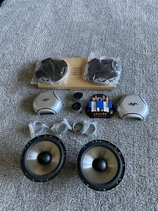 """Rockford Fosgate Fanatic X Component Speakers - 6 1/2""""- Old School Retro"""