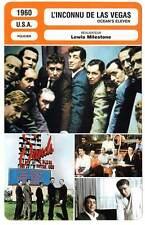 FICHE CINEMA : L'INCONNU DE LAS VEGAS Sinatra,Martin,Davis Jr1960 Ocean's Eleven