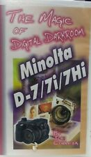 Minolta Dimage d-7 7i 7Hi The Magic of Digital Darkroom Joe Correia VHS