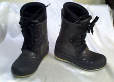 ARMY GREEN & BLACK SNOWBOARDING BOOTS MEN'S US SIZE 7 NEWAVE SNOWBOARD SHOES